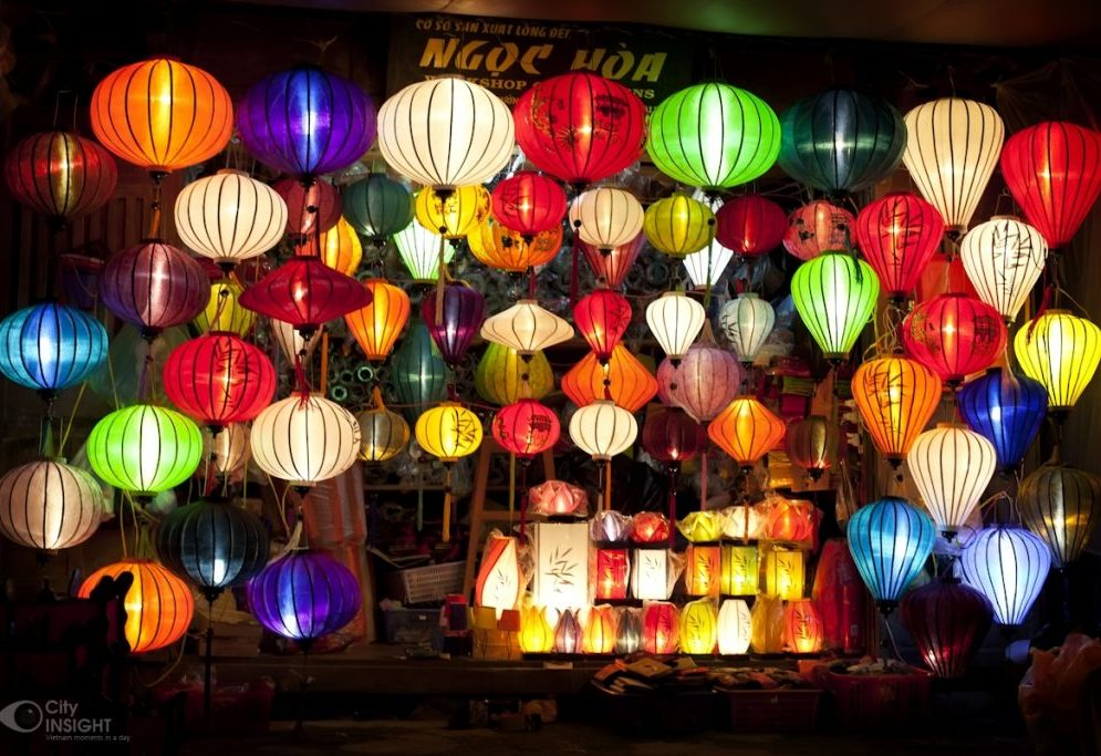Lanterne colorate ad Hoi An